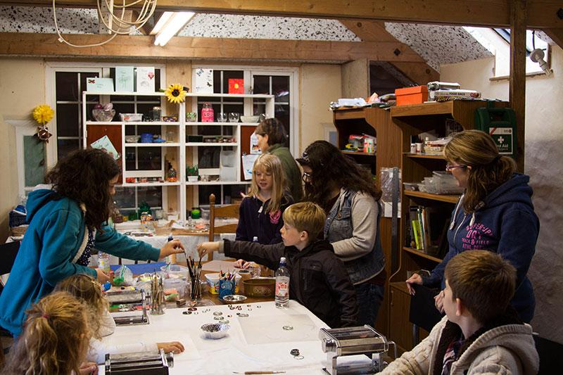 Crafting in Devon